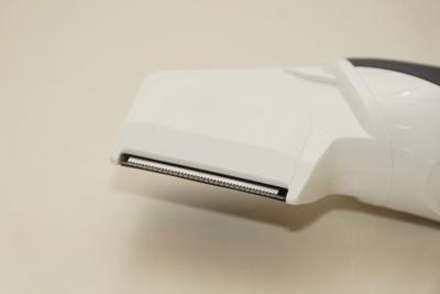 ER-GK60の刃。このままだと約0.2mmの長さに処理できる