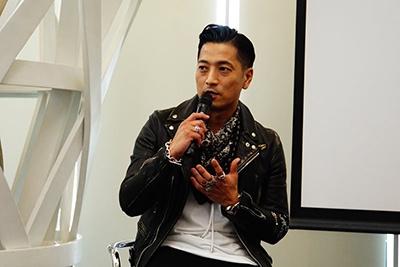 スタイリストの櫻井賢之氏