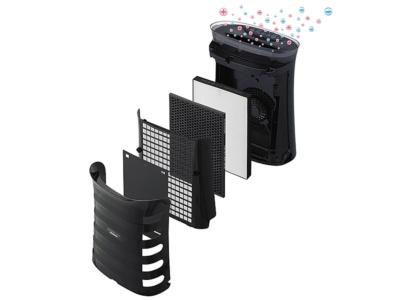 HEPAフィルターを使うなど、空気清浄機としての性能はシャープの他のモデルと同等