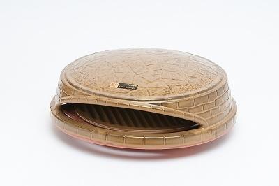 直径25cmほどのピザまでが焼ける、白峯陶器 石釜オーブン「ピッツェリア」(1万3500円)
