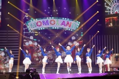 MOMOLANDは9人組ガールズグループ。2018年6月に日本正式デビューを控えている