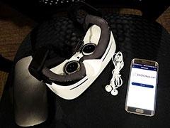 Gear VRを使ってVR視聴を体験してみた。VR用HMDで視聴していると、リアルすぎて思わず身体が反応してしまう