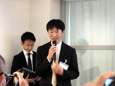 THINK OF THINGSプロジェクトリーダー鈴木貴志氏は、このプロジェクトに至る経緯と、目的について語った