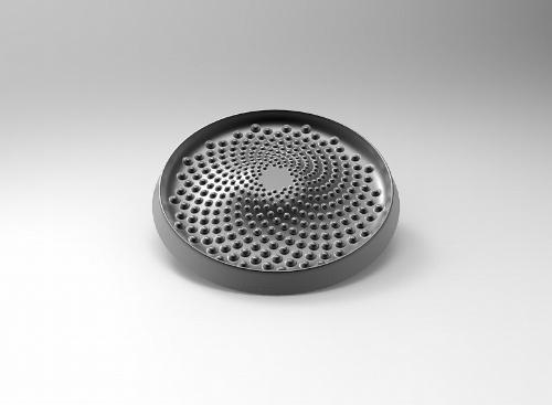 ベストポットの蓋の裏側には凹凸があり、食材から出る水分が循環して無水調理ができる