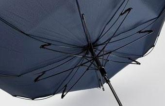 Z型ダボを採用しているため、ひっくり返っても傘への負担が少なく、スムーズに元の状態に戻すことができる