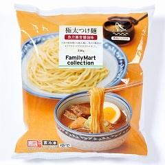 ファミリーマート<br>「ファミリーマートコレクション 極太つけ麺」