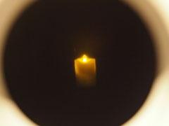 忍者はロウソクの炎を見つめることで集中力を養い、視力を底上げしていたという