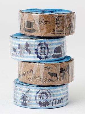 「マスキングテープ」(全2種類、各350円)。2種類セットだと650円