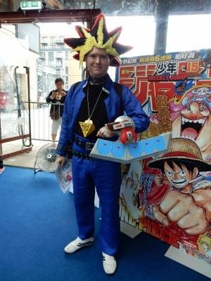 日本アニメキャラVR展で出会ったコスプレイヤー