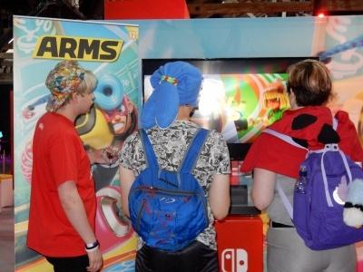 Nitendo Switch「ARMS」は、のびるウデ「アーム」で戦う格闘スポーツ
