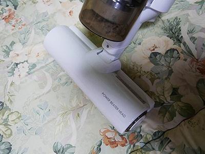 ふとん乾燥終了後は、ふとんクリーナーでいつもより念入りに掃除をしておくことをお忘れなく!