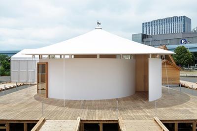 パナソニックと建築家の永山祐子氏による「の家」のキャッチフレーズは「モノで満ちる家から、コトで満ちる家へ」。IoTを通して実現される、身軽で豊かな生活を描いた