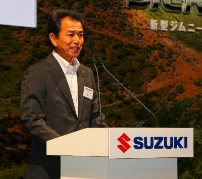 新型ジムニー担当チーフエンジニアの米澤宏之氏
