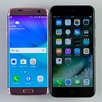 液晶サイズは同じだが、本体はiPhone 7 Plusが一回り大きい