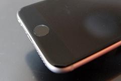 iPhone 6のホームボタン