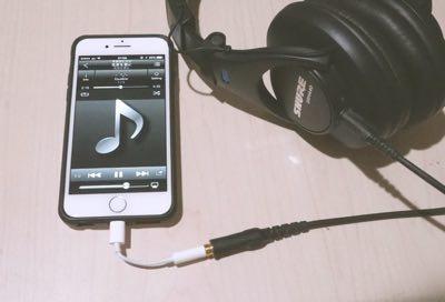 SHUREのヘッドフォンSRH440(実売価格約1万円)でも検証した