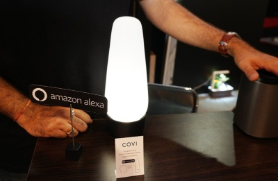 Alexa搭載のスマートLED照明「COVI」