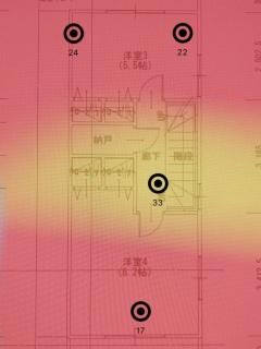 ▼802.11acのWi-Fiルーター(3階)