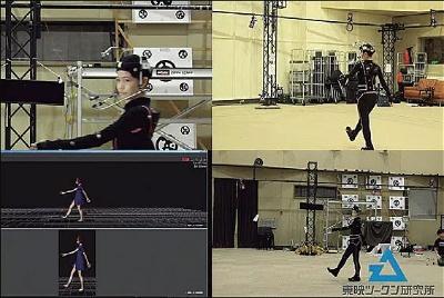 東映ツークン研究所とともに、実際の人間の顔や体の動きをキャプチャーして、「動くSaya」の開発も進めている