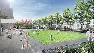 屋上は、地域に開かれた約4000平米の屋上庭園「GINZA SIXガーデン」となる。シーズンに合わせたイベントの実施も予定