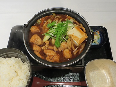 「なごや鶏味噌鍋膳」