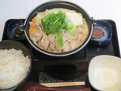 「博多とんこつ鍋膳」