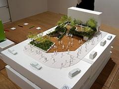 銀座ソニーパークは、ソニービル解体後にフラットな空間として誕生する予定。その後、2022年完成予定として新生ソニービルが建設される