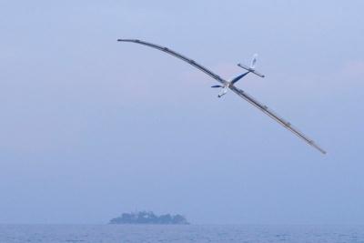 離陸開始から6分ほどたったころ、突風によって翼にねじれが生じてバランスを大きく崩してしまった。機体は湖に不時着し、この時点でチャレンジ終了となった