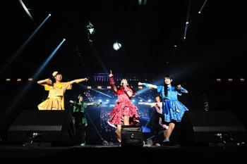 「神宿」(上)「わーすた」(下)などアイドルファン注目のグループも出演した