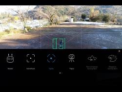 プロポを使って操縦するNormalモード以外に、被写体を指定すればドローンが自動で追尾する自動操縦モードをいろいろと用意する