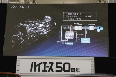ディーゼル仕様には次世代のクリーンディーゼルエンジン「1GD-FTV」を採用
