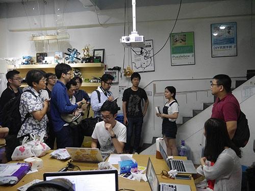 Seeedが開いた柴火創客空間。今は会社化し、中国全土にメイカー文化を行き渡らせようとしている