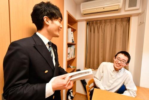 協力企業から派遣される若手社員が社会への窓になる(写真:早川俊昭)
