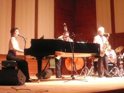 2010年、「トルコにおける日本年」国際ジャズフェスティバルに出演