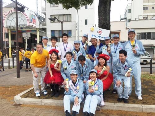 2018年5月、工場のメンバーと共に横浜パレードに参加