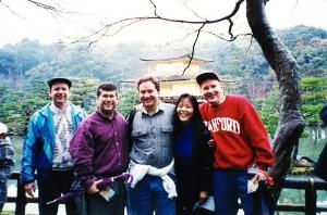 留学時代の友人たちと京都旅行