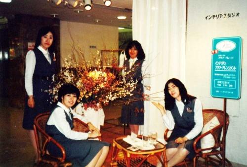 日本橋店のリビングフロアでキャリアをスタートした