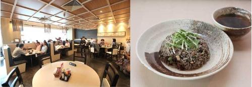 日本食レストラン「たんぽぽ」で人気のチャーハン。クボタのお米を使っている