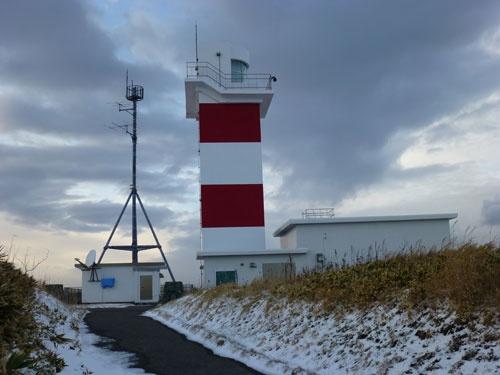 宗谷岬灯台。1885年(明治18年)に点灯した、北海道で3番目に古い灯台