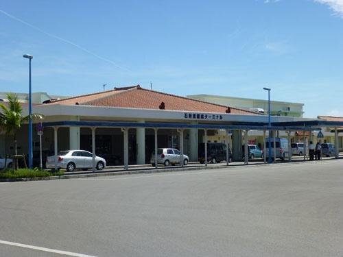 石垣港離島ターミナル<br/>ここから八重山の各港へと、高速船が結ぶ
