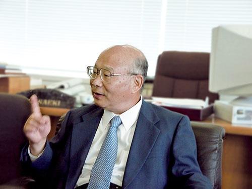 シンフォニアテクノロジー(旧神鋼電機)の元社長、佐伯弘文氏