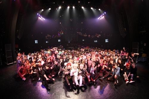 MEN'S UNIT DELiGHTには、12組の男性アイドルグループが参加した