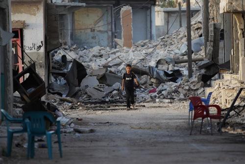 シリア停戦合意は、米側が今月3日に協議停止をロシアに通告したことで最終的に破綻。余剰プルトニウムの処分に関する米ロ合意の履行停止のきっかけになったとみられている。(写真:ロイター/アフロ)