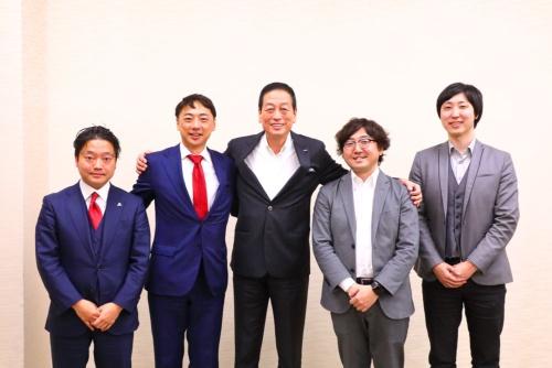 左から吉村氏(第27回に登場)、阪根氏、魚谷氏、森川氏(第27回に登場)、溝口氏