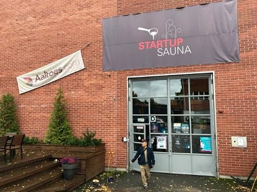 アールト大学内の「スタートアップ・サウナ」、SLUSH(スラッシュ)はここで生まれた