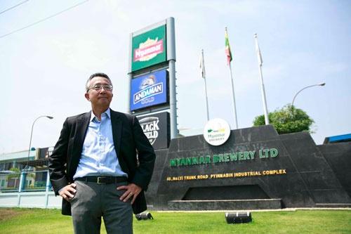 キリンの藤川宏氏は買収直後からミャンマー・ブルワリーの指揮を取る(写真:的野弘路)