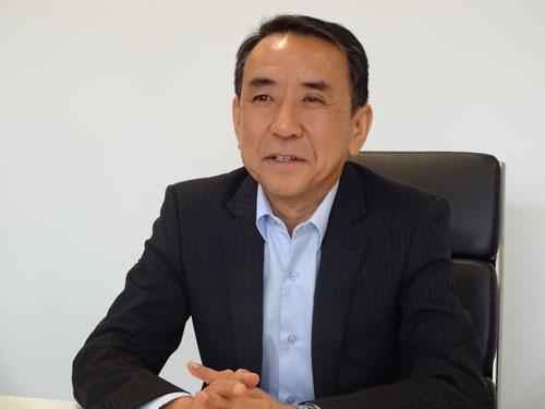 勝木敦志氏は「我々はチャレンジャー」と強調する