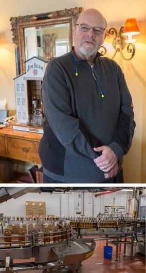 ビーム家7代目当主のフレッド・ノー氏はウイスキー業界の重鎮として知られる。