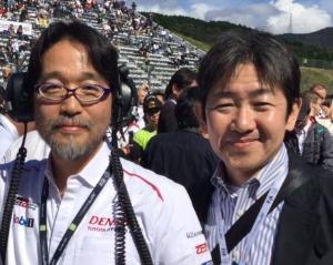 TGRの村田氏(左)と米内社長