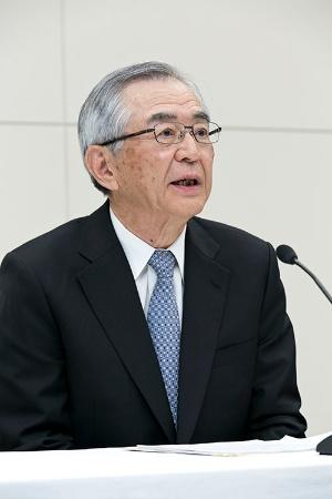 東電HDの会長に就任する川村隆氏(日立製作所名誉会長)(写真:的野弘路)